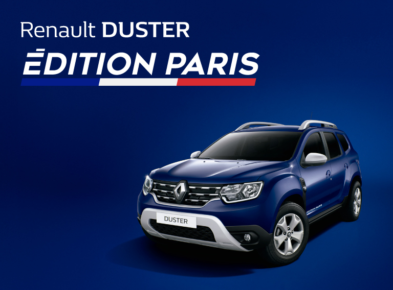 SUV Renault Duster Édition Paris