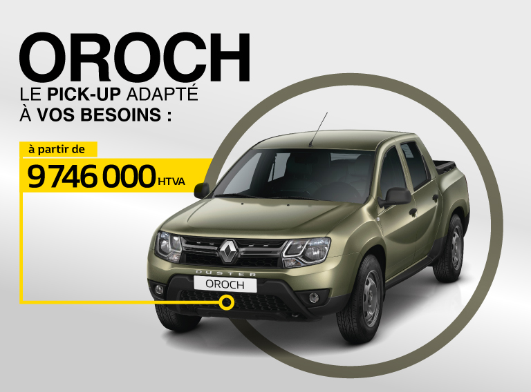 Pick-up Renault Duster Oroch
