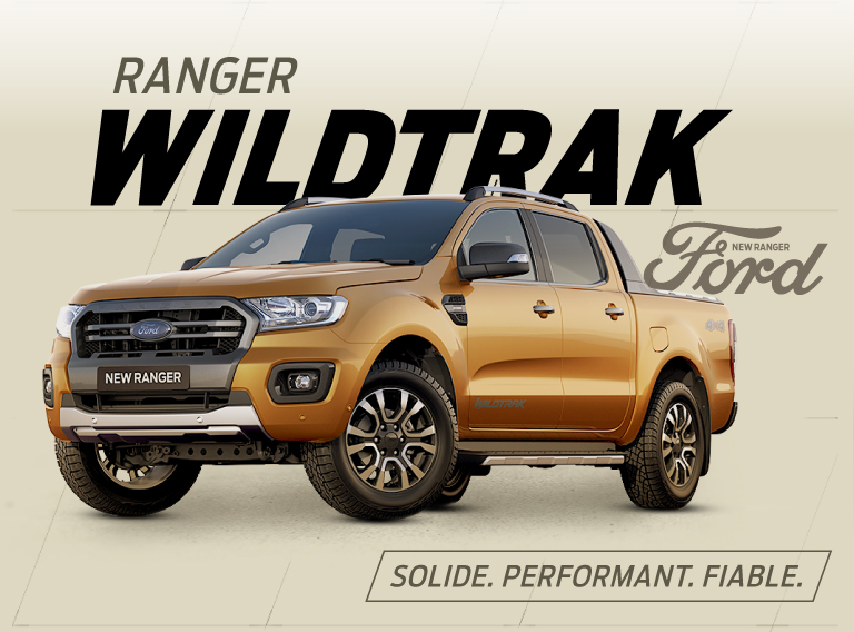 Pick-up 4x4 Ford Ranger Wildtrak