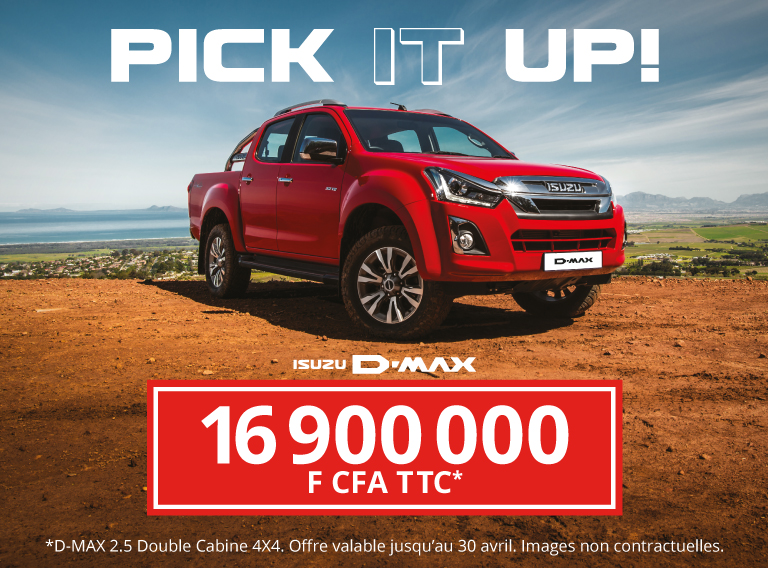 Pick-up 4x4 ISUZU D-Max